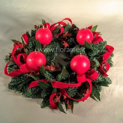 CROWN ADVENT candle ball