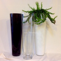 VASE CONICAL H070 D22-glass