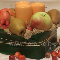 FRUIT AND CANDLES-centerpieces-€ 19 to 34