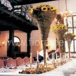 BAROCCO - centrotavola con candele