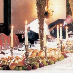 BAROQUE - centerpiece with candles