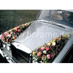CAR FLORAL FRONT - composition