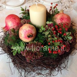 POMEGRANATES AND CANDLES € 20